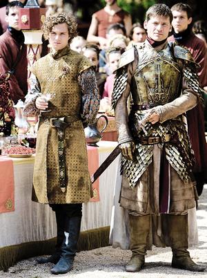 Loras Tyrell & Jaime Lannister