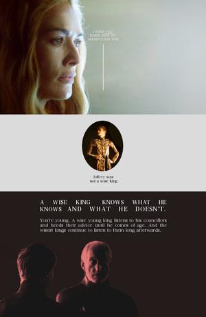 Tywin, Cersei & Tommen