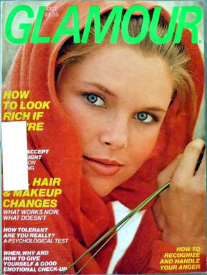 Glamour magazine, October 1976
