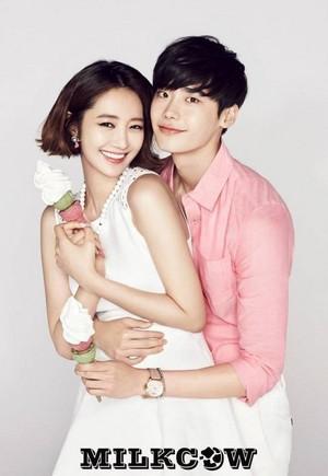 Go Jun Hee and Lee Jong Suk 'Milk Cow'