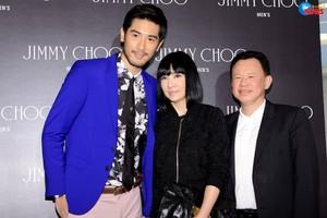 Godfrey Gao (Jimmy Choo event - 04.09.14)