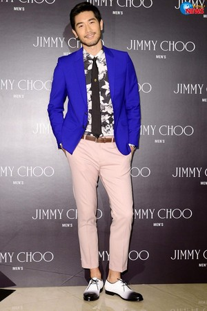 Godfrey Gao (Jimmy Choo event - 04.09.14)