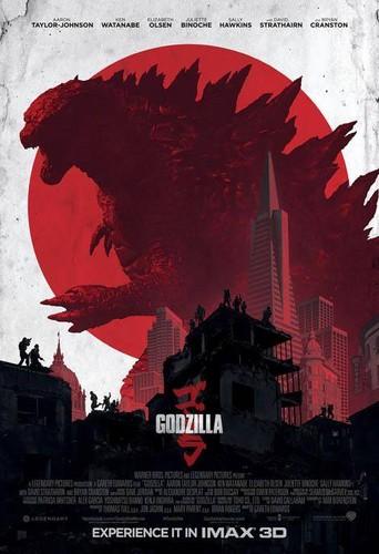 Godzilla hình nền containing anime entitled Godzilla (2014) IMAX Poster