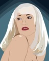 Gwen Stefani - Geometric Shapes - gwen-stefani fan art
