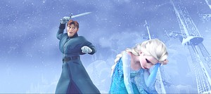 HD Blu-Ray ডিজনি Princess Screencaps - Prince Hans & কুইন Elsa