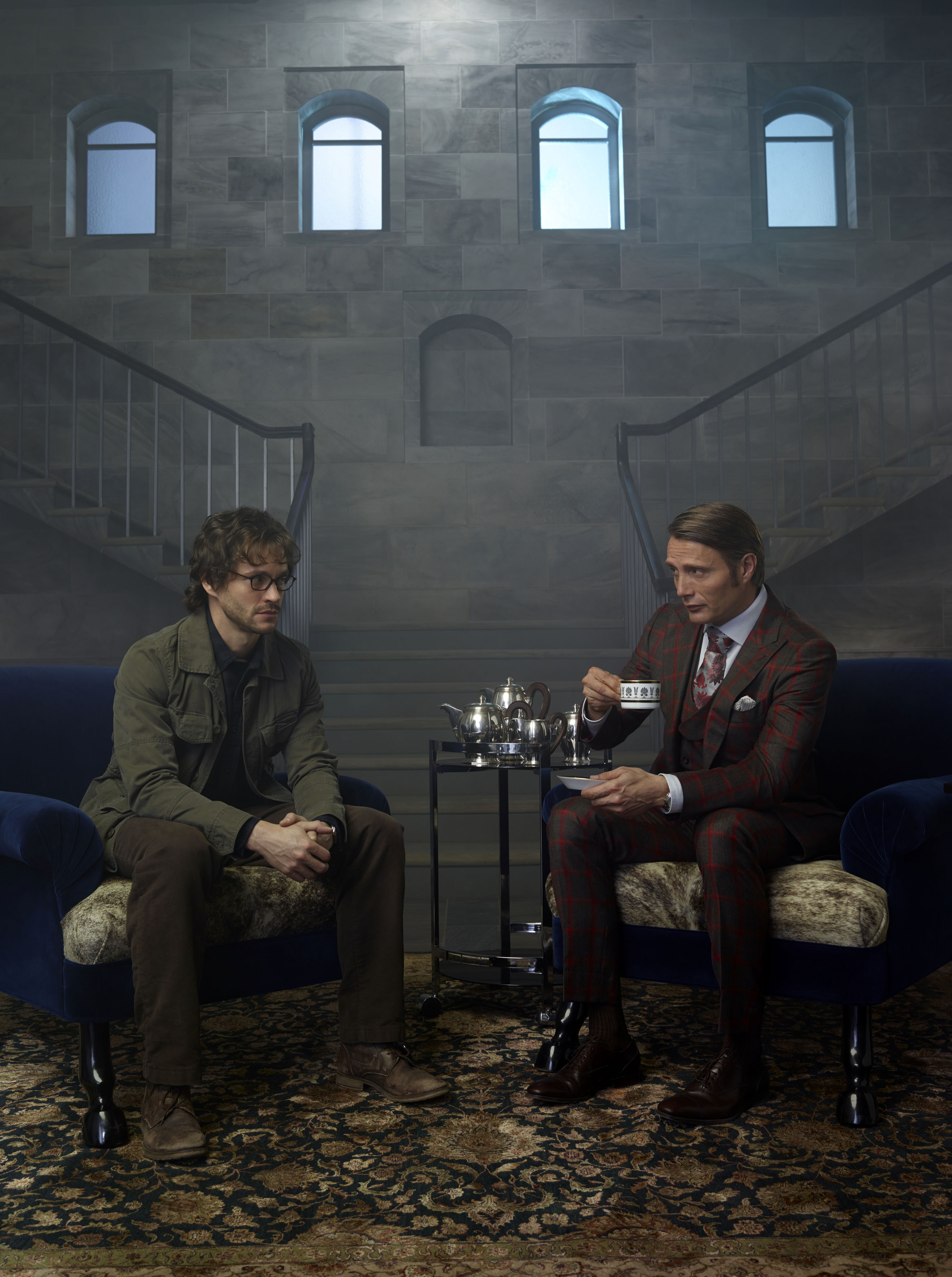 Hannibal lecter and will graham hannibal tv series photo 36948611 fanpop - Hannibal tv series actors ...