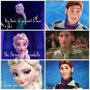 Hans doesn't get Arendelle
