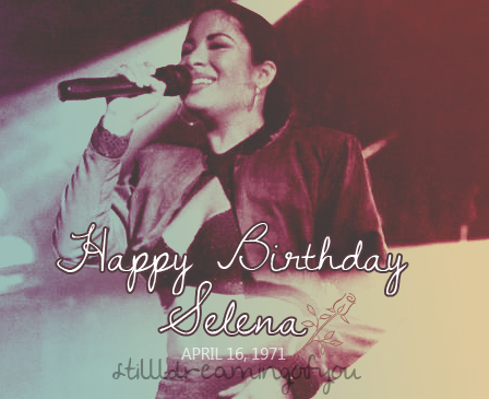 Selena Quintanilla-Pérez wallpaper with a concert and a guitarist entitled Happy Birthday Selena! ♥