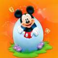 Happy Easter - mickey-mouse fan art