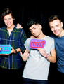 Harry, Zayn and Liam                           - one-direction photo