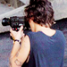 Harry with a camera