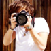 Harry with a camera          - one-direction icon
