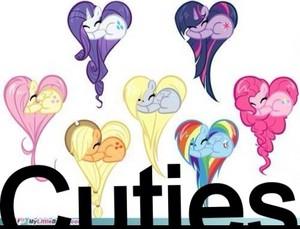 ハート, 心 ponies