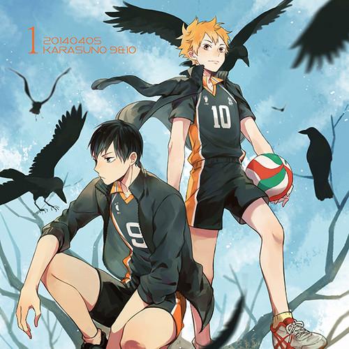 Haikyuu!!(High Kyuu!!) 壁纸 with 日本动漫 entitled Hinata and Kageyama