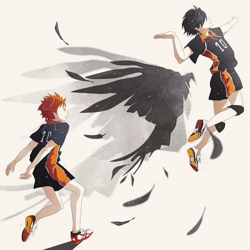 Haikyuu!!(High Kyuu!!) achtergrond called Hinata and the Small Giant