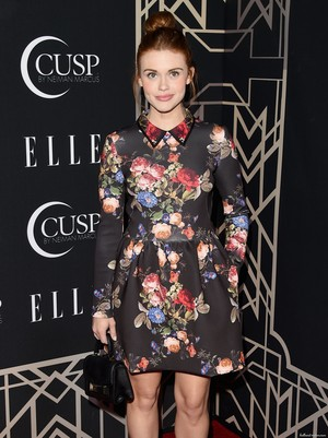 Holland attends 5TH ANNUAL ELLE WOMEN IN 音楽 CELEBRATION HD 写真
