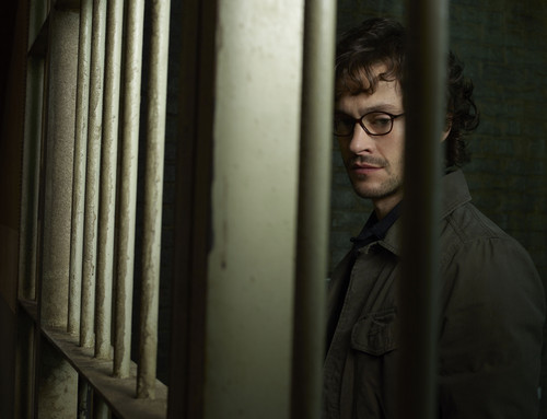 Hannibal TV Series wallpaper possibly containing a holding cell, a cell, and a penal institution titled Hugh Dancy as Special Agent Will Graham