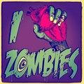I <3 zombie - zombies fan art