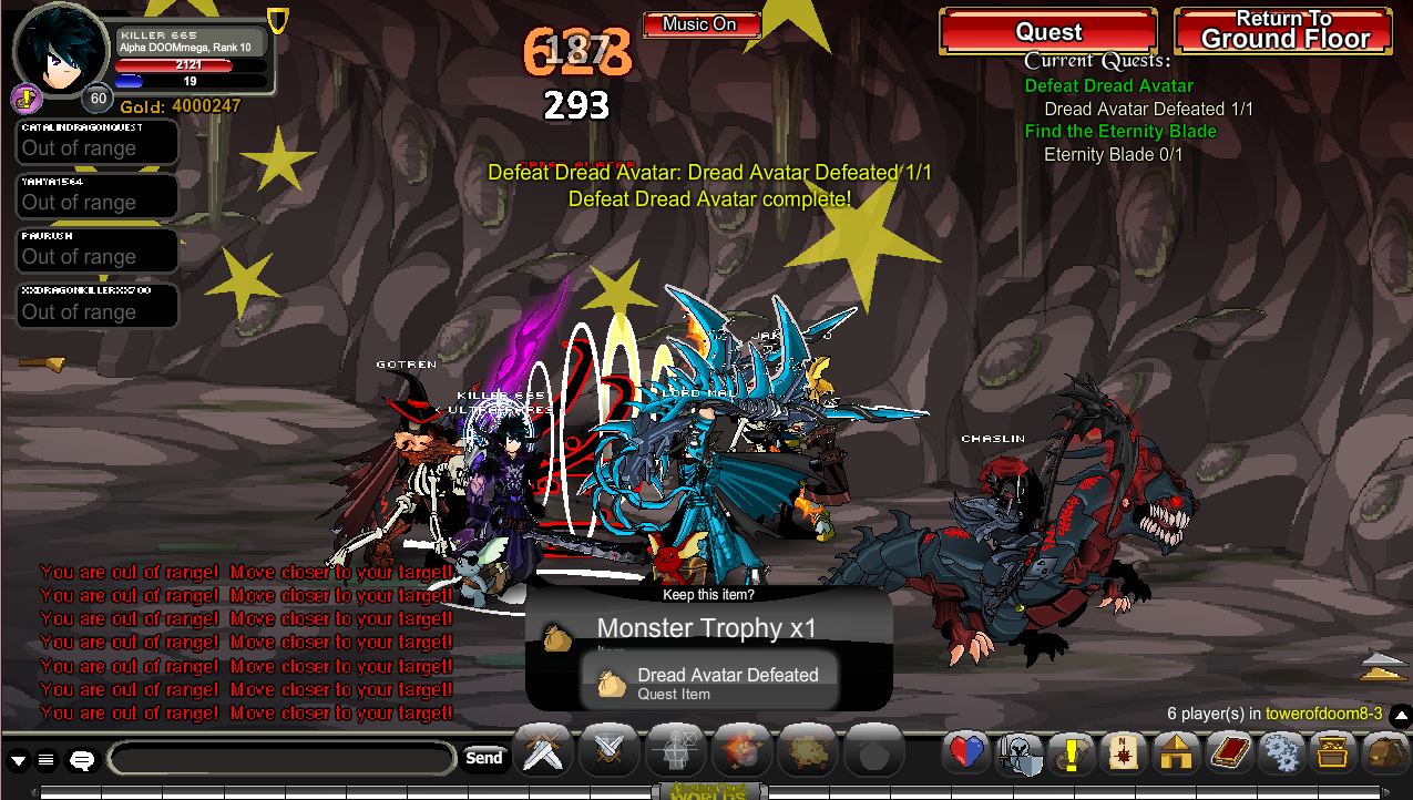 I killed the Dread Avatar - aqworlds Photo (36963822) - Fanpop