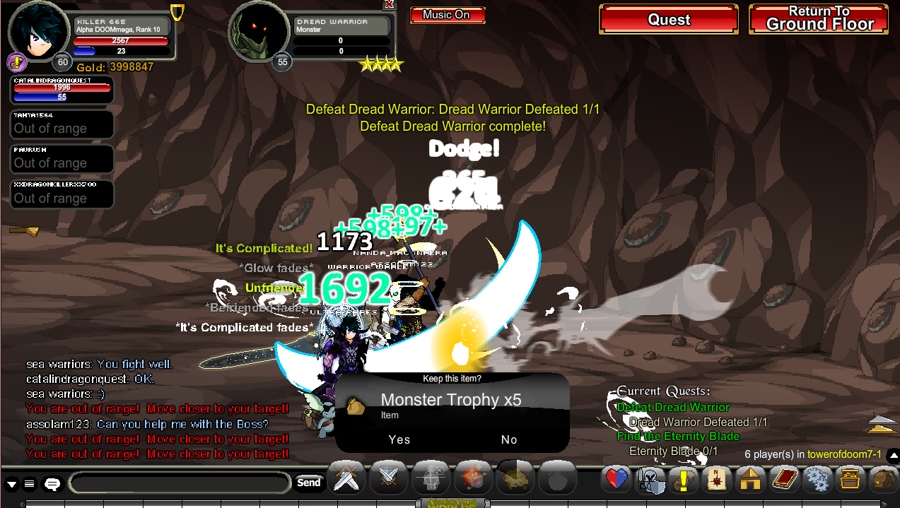 I killed the Dread Warrior - aqworlds Photo (36962916) - Fanpop
