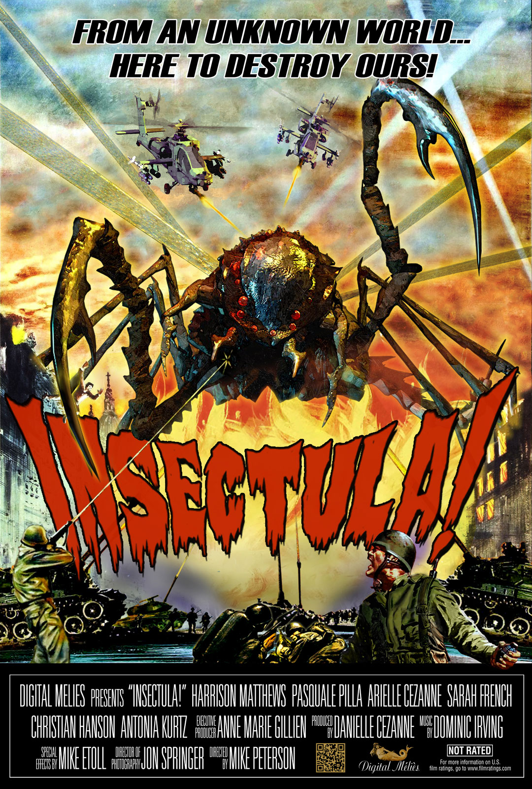 Monster Movies Images Insectula Poster Hd Wallpaper And