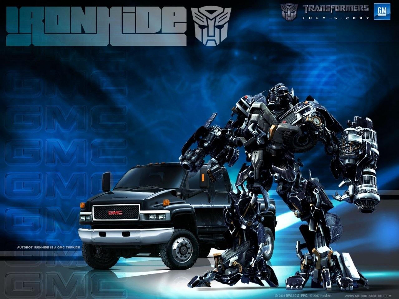 Ironhide The Transformers Wallpaper Fanpop