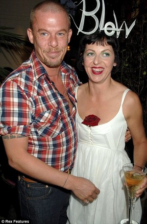 Isabella Blow and Alexander McQueen