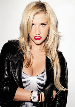It's Kesha!