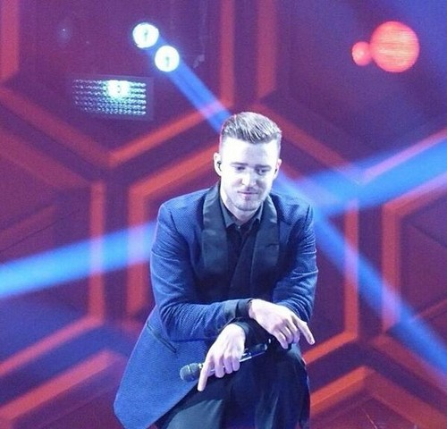 Justin Timberlake wallpaper containing a business suit entitled JT - The 20/20 Experience World Tour 2014