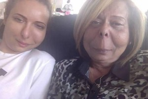 Jade and her mom today :D