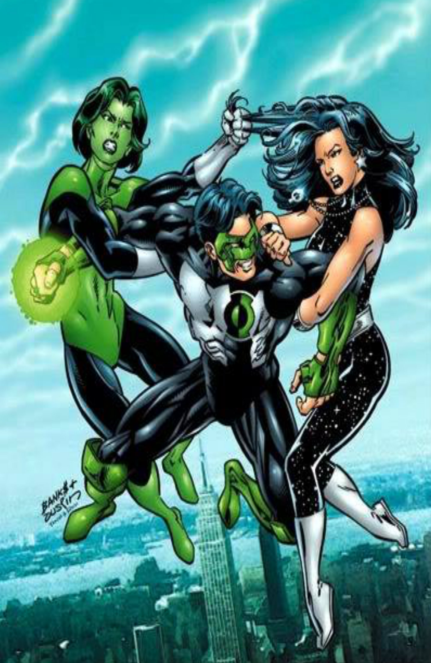 Dc Comics Fans : Jade dc comics fan art  fanpop