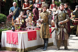 Jaime Lannister and Loras Tyrell