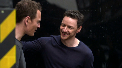 James McAvoy and Michael Fassbender wallpaper entitled James and Michael ☆