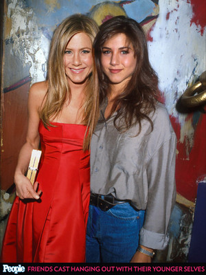 Jennifer and her younger self