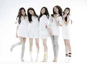 Jiwon in T-ara