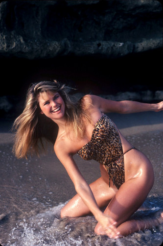 Christie Brinkley wallpaper with a maillot called John Zimmerman photoshoots