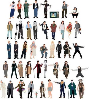 Johnny's All Movie Characters 2014