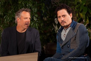 Johnny and Wally Pfiste (Transcendence Press Junket Mar 2014)