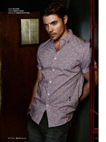 Josh Henderson wallpaper possibly containing a well dressed person, an outerwear, and a leisure wear called Josh Henderson ✨