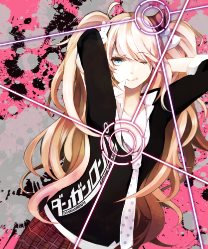 Dangan Ronpa wallpaper entitled Junko Enoshima