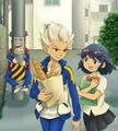 Just Helping - inazuma-eleven photo