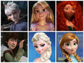 Just smile - rise-of-the-frozen-brave-tangled-dragons fan art