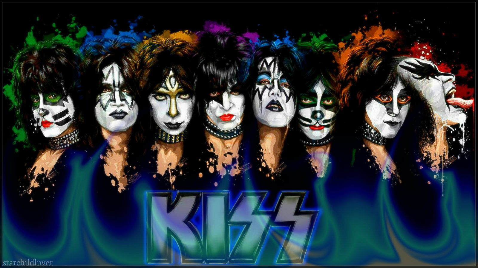KISS Images In Makeup HD Wallpaper And Background Photos