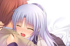 Kanade and Otonashi <3