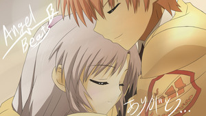 Kanade and Otonashi <3