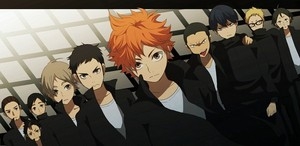 Karasuno volleybal Team