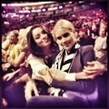 Kat and Claire at Lakers vs Phoenix game - rebekah photo
