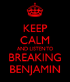 Keep Calm and Listen to Breaking Benjamin - breaking-benjamin photo