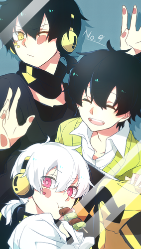 Mekaku City Actors wallpaper called Kuroha/Haruka/Konoha