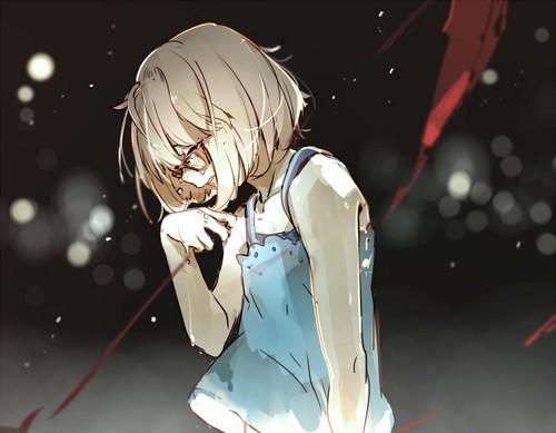 Kyoukai no Kanata achtergrond entitled Kyoukai No Kanata
